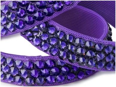 Apyrankė 3 eilių Purple Velvet 3